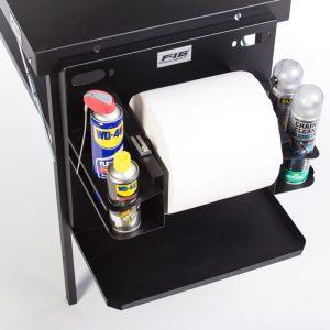 Supporto portabobina carta e spray in alluminio